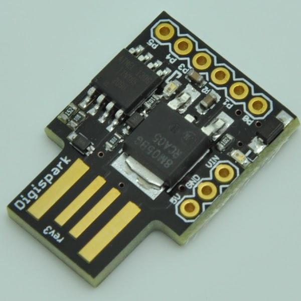 Estremamente Daniele Alberti, Arduino 's blog: Primi passi con Digispark, il  WX87