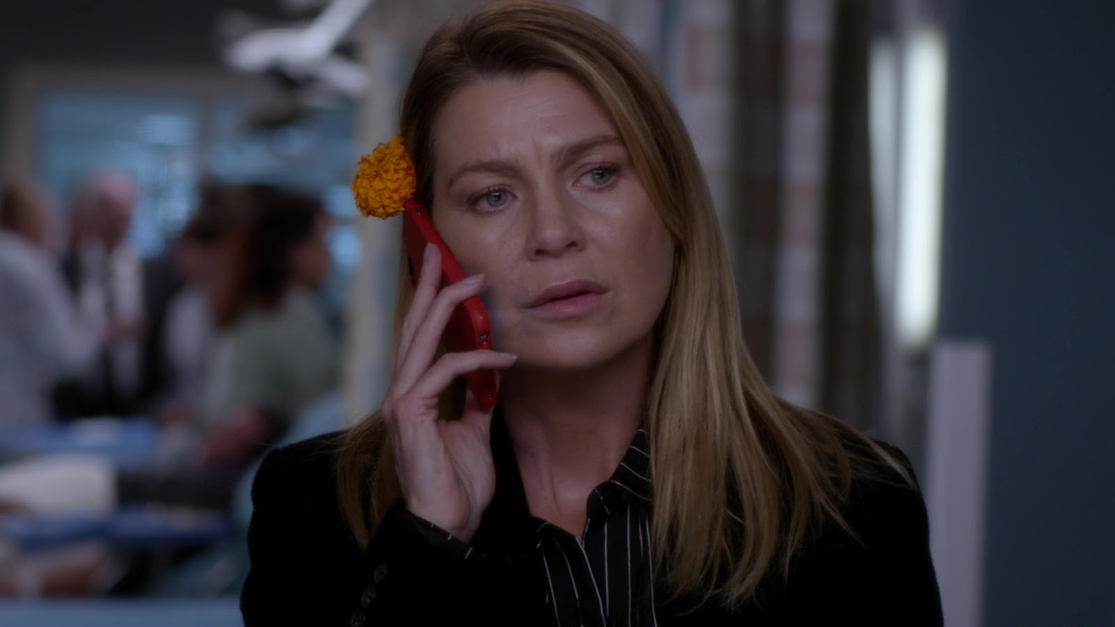 Grey's Anatomy 15x06 Flowers Grow Out of My Grave Meredith