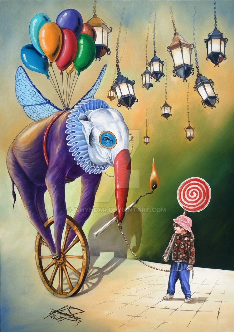 02-Imaginary-Friend-Raceanu-Mihai-Adrian-Ishyndar-Mapping-Surrealism-with-Oil-on-Canvas-www-designstack-co