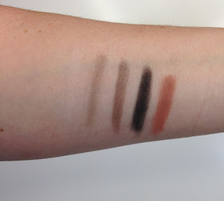 Louise Young Essential Eye Palette Swatch