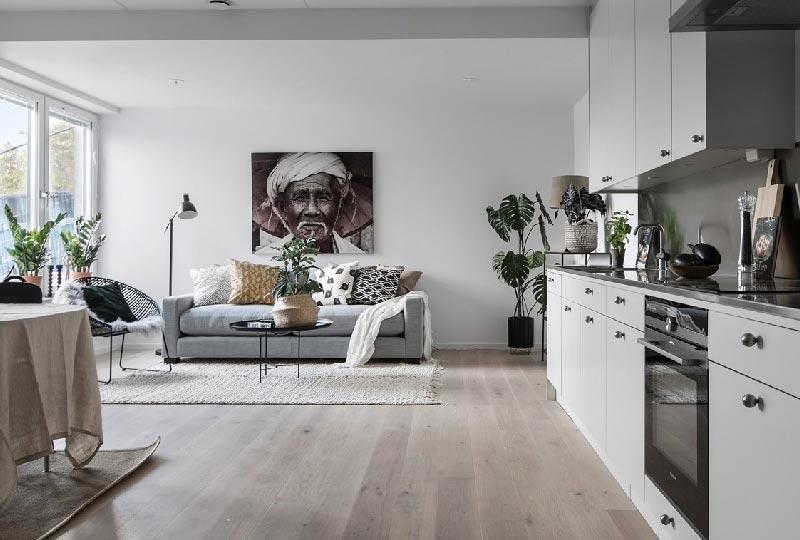 Arredare casa in stile nordico con un tocco etnico blog for Ammobiliare casa