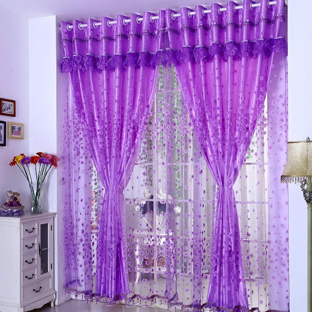 Simple modern curtain designs 2016 curtain ideas colors, gold sparkling lined pattern for windows treatment