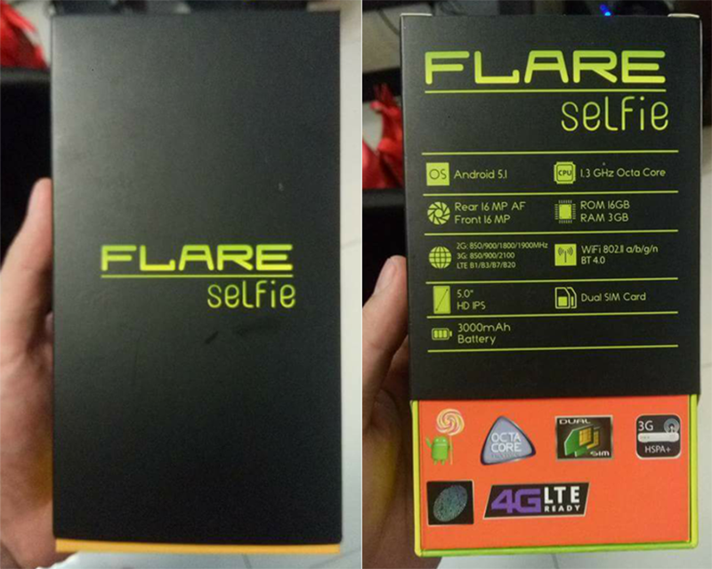 Cherry Mobile Flare Selfie Leaked With Dual 16 MP Cam