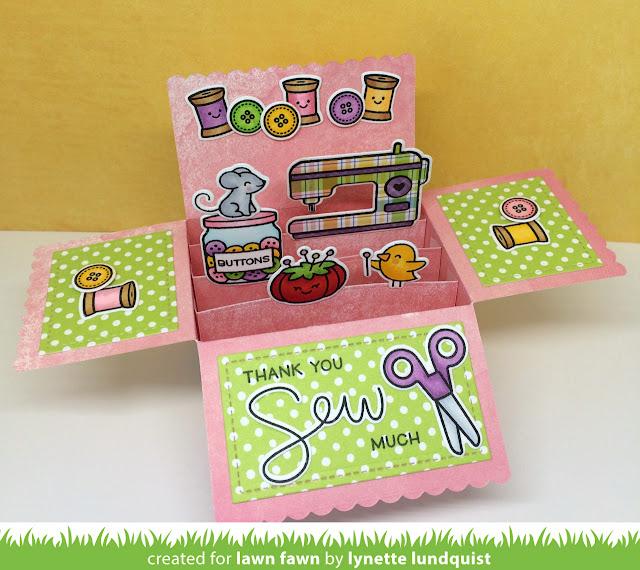 Lawn Fawn Scalloped Box Card Pop-Up에 대한 이미지 검색결과