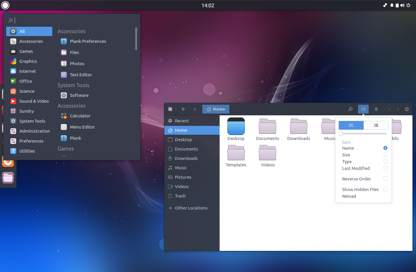 A Quick Look At Budgie Remix 16 04, The Unofficial Budgie Desktop