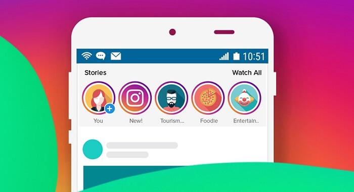 أفضل-5-تطبيقات-لانشاء-قصص-Story-احترافية-علي-انستقرام-أندرويد-ايفون