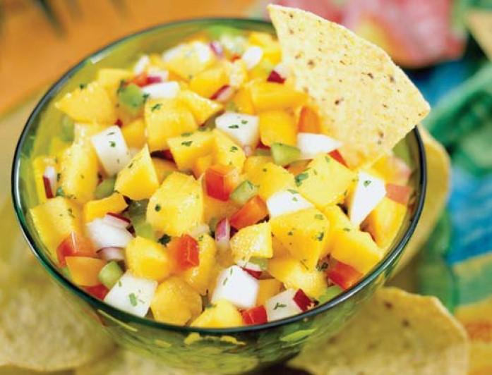 Pear Mango Salsa