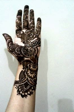 Simple and easy mehndi designs for hands