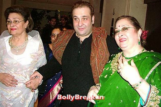 Raj Kapoor's third son Rajiv Kapoor is married to Aarti Sabarwal (on the  left), Kapoor Family Pics, Kapoor Family Chain, Origin, Caste, Family Tree - Nanda, Jain