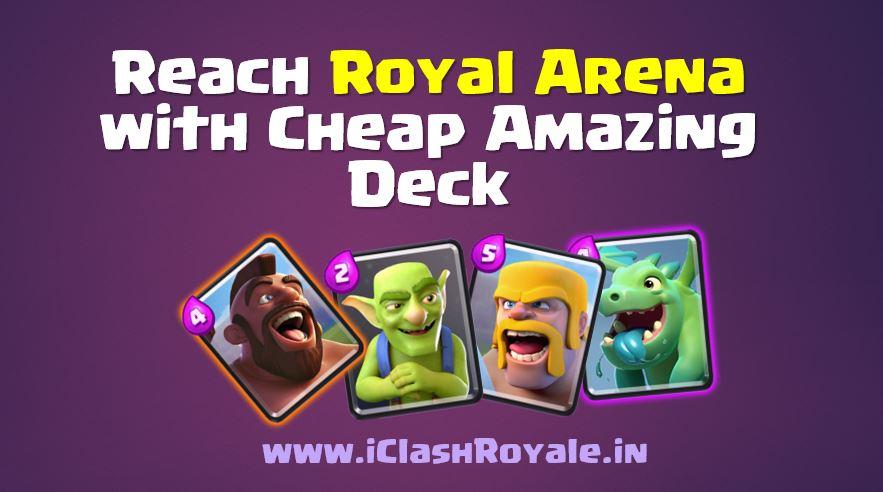 clash royale cheap elixir decks