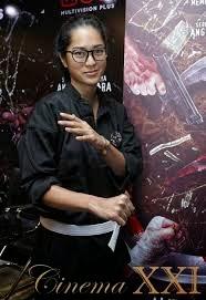 Prisa Nasution mempelajari Pencak silat