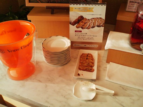 ビュッフェコーナー:シュトーレン1 オーセントホテル小樽カサブランカ