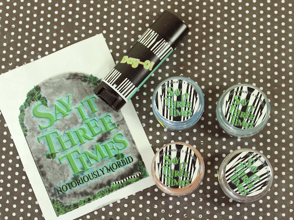 Notoriously Morbid September 2015 Vanishing Cabinet Swatches & Review