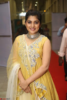 Nivetha Thamos in bright yellow dress at Ninnu Kori pre release function ~  Exclusive (32).JPG