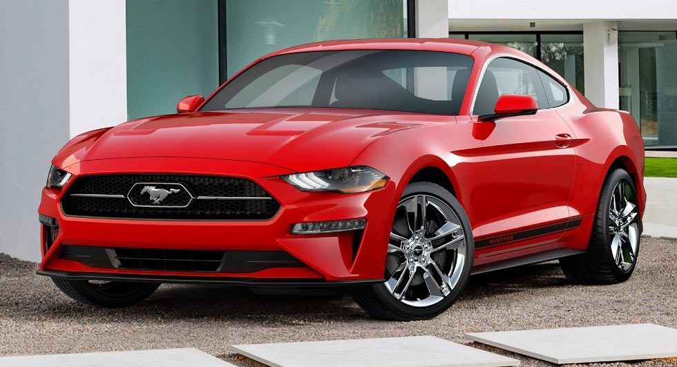 The 2018 Ford Mustang Pony Package adds Vintage Badging