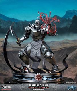 Alphonse Elric Statue de Fullmetal Alchemist Brotherhood - First 4 Figures