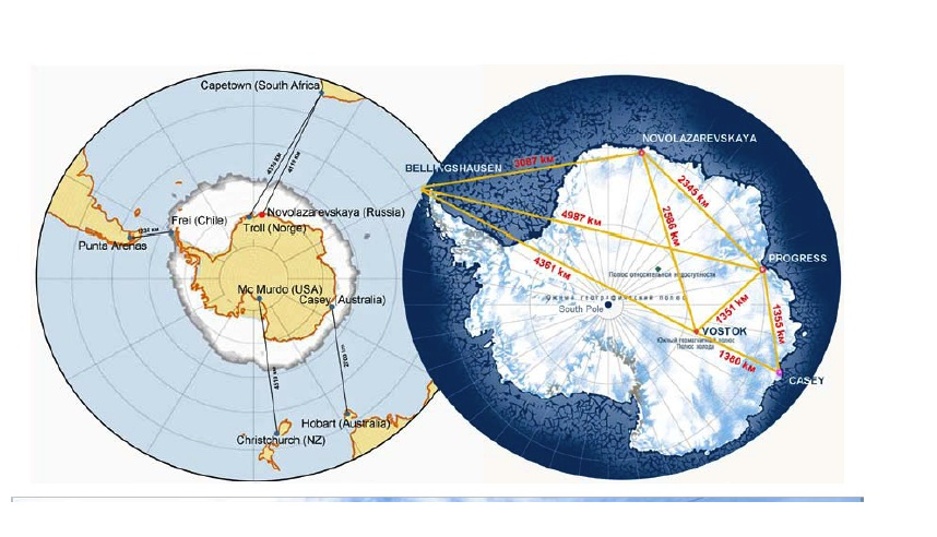 Rick Potvin's Virtual Circumnavigation of Antarctica to