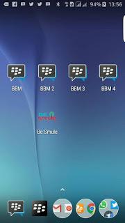 BBM Multi Clone (BBM1 + BBM2 + BBM3 + BBM4) Based V3.0.0.18 APK