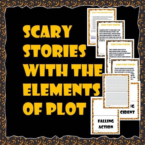 Scary Stories with the Elements of Plot