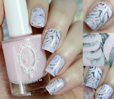 Powder Perfect Pale Pink Stamping Polish