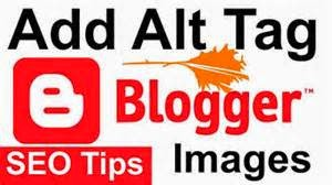 Automatically add ALT and Title tags to Blogger Images