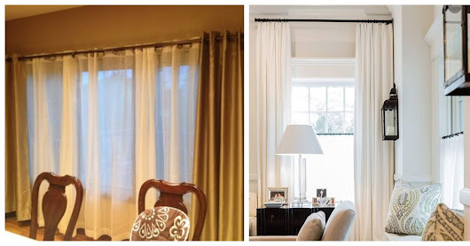 How to Measure, Hang, and Pick Curtains For Your Home