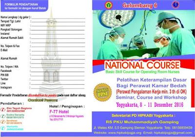 Pelatihan-dasar-ketrampilan-perawat-kamar-bedah-yogyakarta-2016