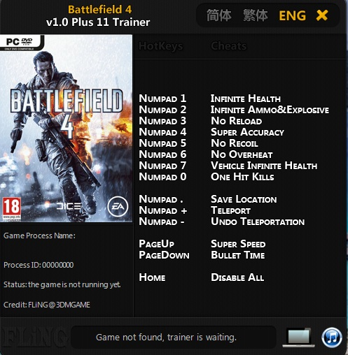 battlefield 4 ps3 cheat codes | Cheat Codes for PS3