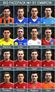 Big Facepack V1 2016 Pes 2013 By Emmrow
