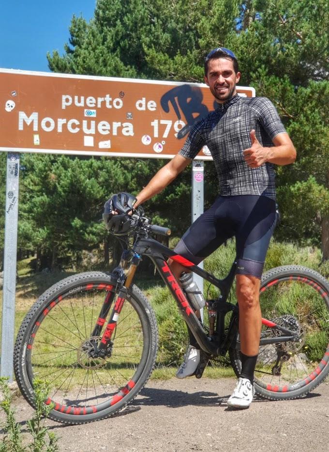 Alberto Contador también usa Strava