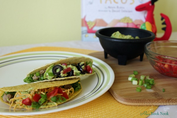Homemade Taco Seasoning recipe and Dragons Love Tacos book review
