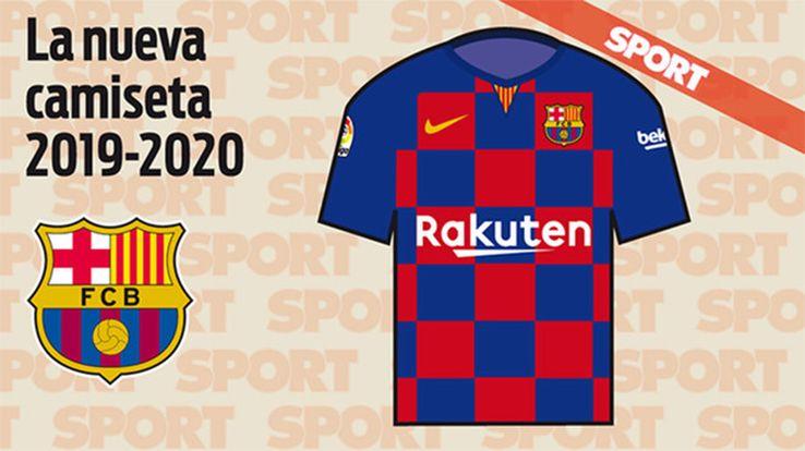 Camiseta FC Barcelona 2019