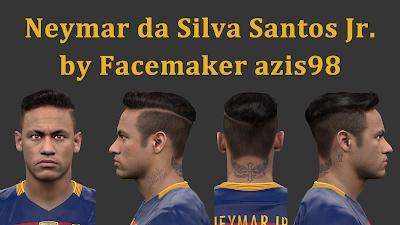 PES 2016 Neymar da Silva Santos Jr. by Facemaker azis98