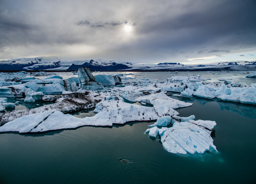 Jökulsárlón - Drone Captures Stunning Aerial Images of Iceland, In Case You Need Another Reason to Go