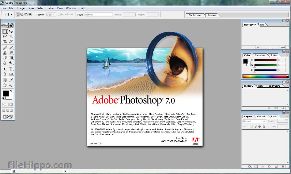 an analysis of the software adobe photoshop 55