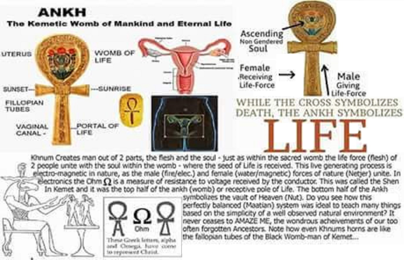 Nutas ankh the original trinity mother and sun reunion holy madonna auset conceived her only begotten sun heru from the spirit of the lord of the perfect black ausar after ausar was murdered by his jealous biocorpaavc