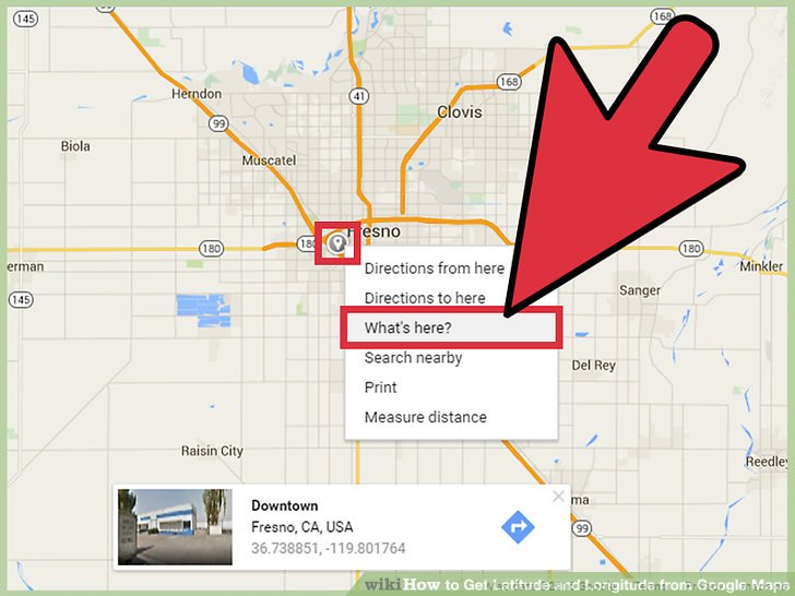 Google Maps Helps You Find Latitude And Longitude Tech Articles