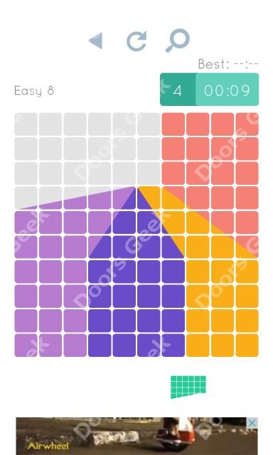 Cheats, Walkthrough for Blocks and Shapes Level 8