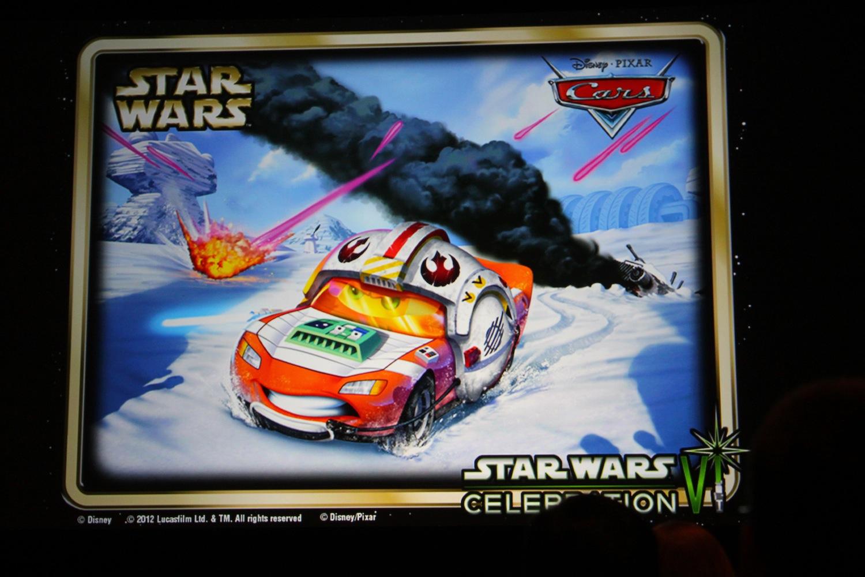 Car Wars: Like Star Wars? Like Die Cast Pixar Cars Characters? You