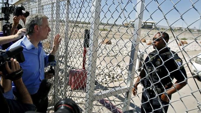 Patrulla Fronteriza acusa al alcalde de NY de entrar ilegalmente a México y Estados Unidos