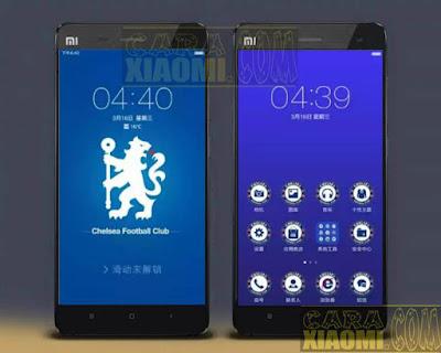 Kumpulan Tema MIUI Football Themes Mtz For Xiaomi Chelsea FC