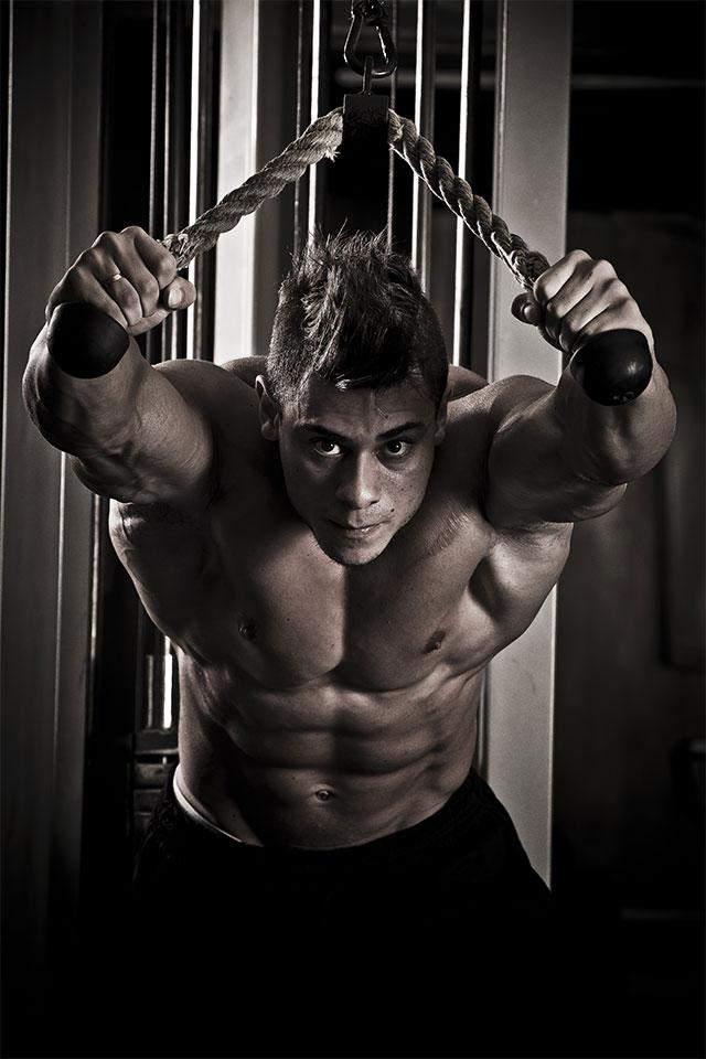 O cantor e bodybuilder Léo Stronda. Foto: Divulgação
