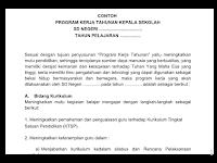 Download Contoh Program Kerja Kepala Sekolah & Guru Terbaru Tahun Ajaran 2018/2019