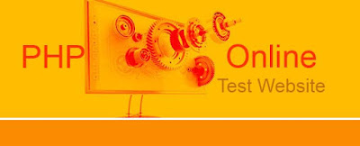 PHP Online Test Website Website