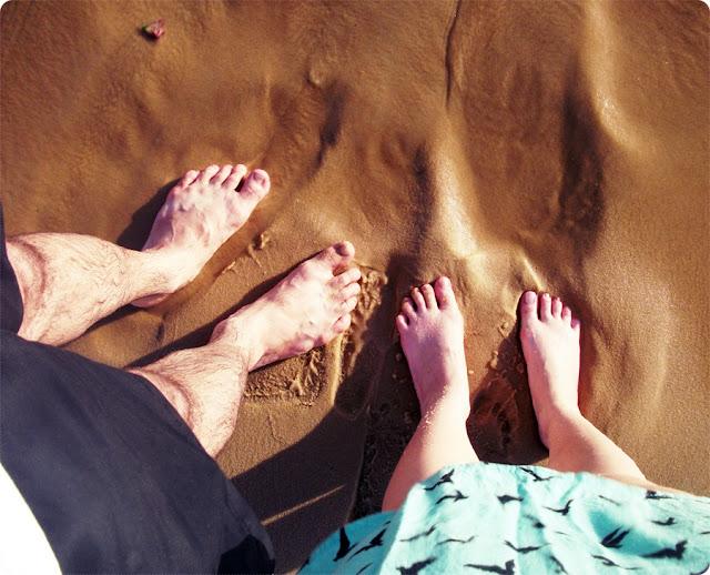 pé na areia, blog de casal, jell e marcelo, blog retrô