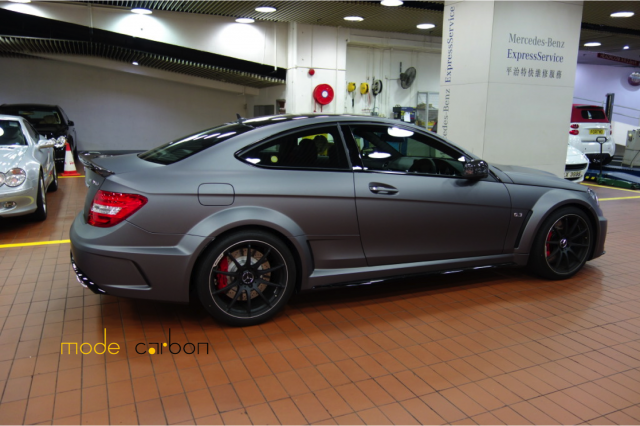 all cars nz 2012 mercedes benz c63 amg black series by mode carbon. Black Bedroom Furniture Sets. Home Design Ideas