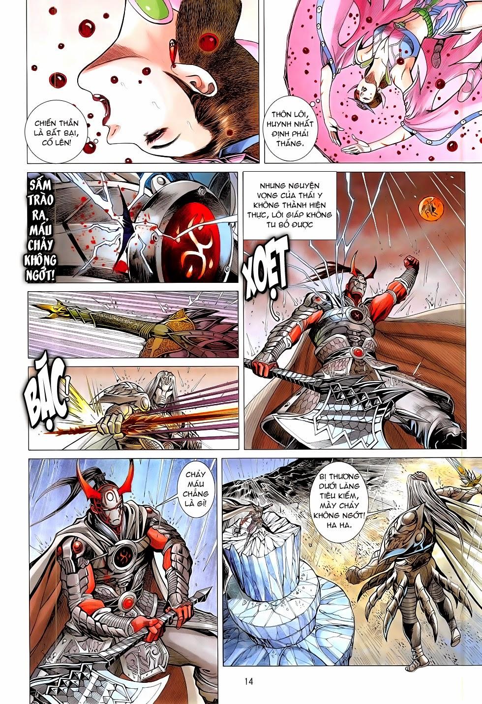 Chiến Phổ chapter 10: chấn tích lịch trang 14
