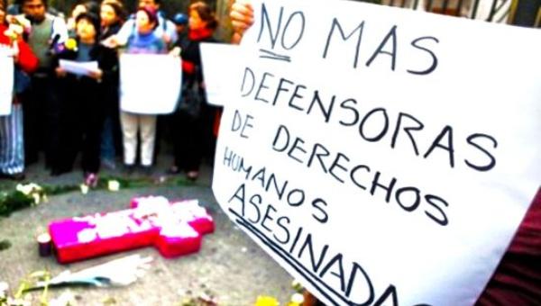 Cada 5 días muere un activista social en Colombia