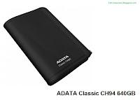 ADATA Classic CH94 640GB external hard drive