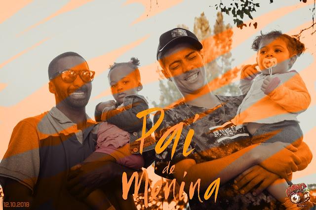 """Pai de Menina - Os dois """"Tretas do rap nacional"""" MotoTreta e Moita Treta, lançam clipe sobre suas filhas."""